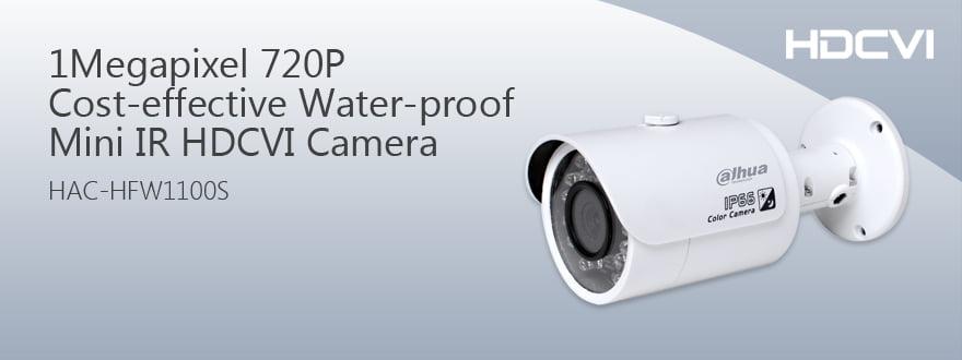 Dahua HAC-HFW1100S HDCVI Water proof Camera
