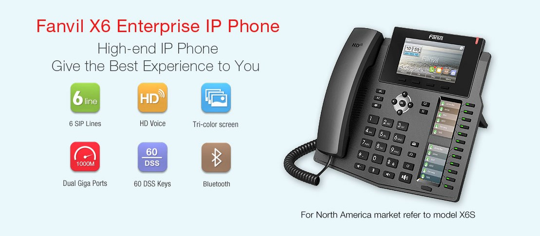 Fanvil IP Phone X6